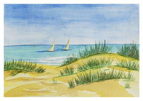 Sailing at the Dunes