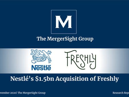 Nestlé $1.5Bn Acquisition of Freshly
