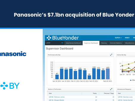 Panasonic's $7.1bn Acquisition of Blue Yonder