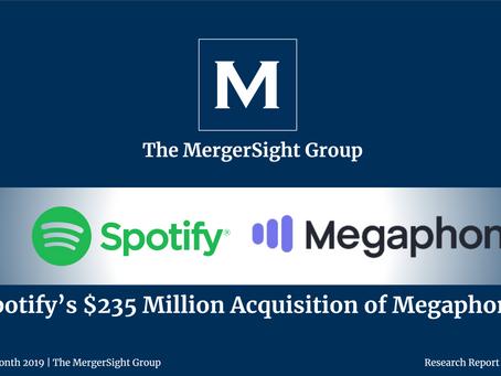 Spotify's $235 Million Acquisition of Megaphone