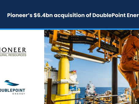 Pioneer's $6.4bn Acquisition of DoublePoint Energy