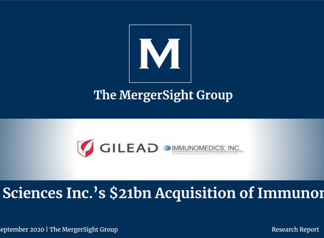Gilead Sciences Inc.'s $21bn Acquisition of Immunomedics