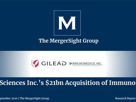 Gilead Sciences Inc.'s $21bn Acquisition of Immunomedics