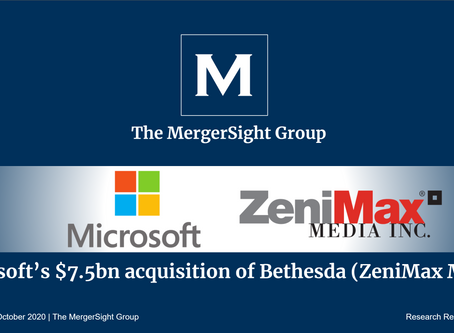 Microsoft's $7.5bn Acquisition of Bethesda (ZeniMax Media)