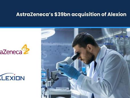AstraZeneca to acquire Alexion in $39bn deal