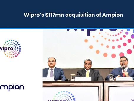 Wipro's $117 million Acquisition of Ampion