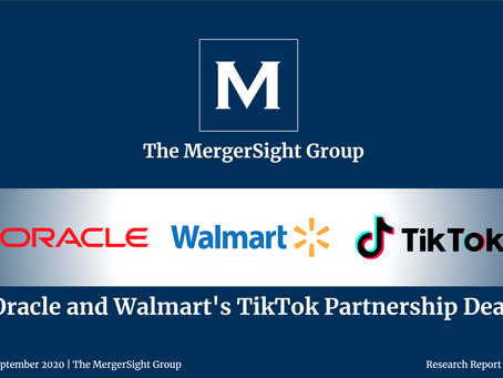 Proposed TikTok Partnership with Oracle and Walmart