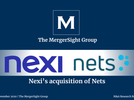 Nexi's €7.8bn Acquisition of Nets