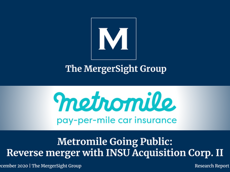 Metromile Going Public: Reverse merger with INSU Acquisition Corp. II