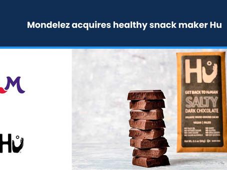 Mondelez acquires healthy snack maker Hu