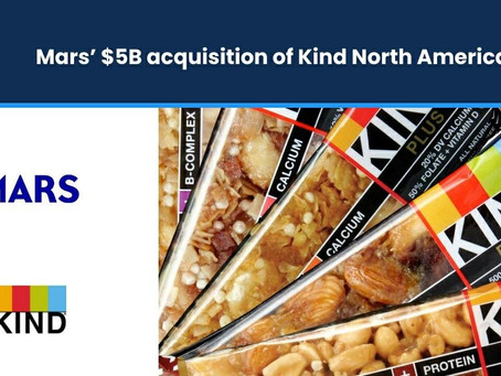 Mars' $5bn Acquisition of KIND North America