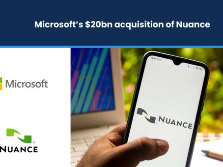 Microsoft's $20bn Acquisition of Nuance
