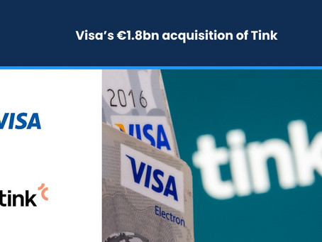 Visa's €1.8bn Acquisition of Tink