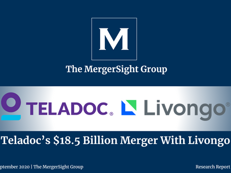 Teladoc Health and Livongo Merger