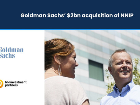 Goldman Sachs' $2bn Acquisition of NNIP