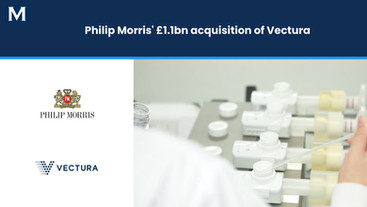 Philip Morris International's £1.1 bn Acquisition of Vectura