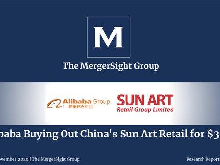 Alibaba Buying Out China's Sun Art Retail for $3.6B