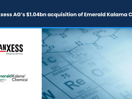 Lanxess AG's $1.04bn Acquisition of Emerald Kalama Chemical