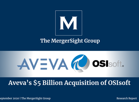 AVEVA's $5 Billion Acquisition of OSIsoft