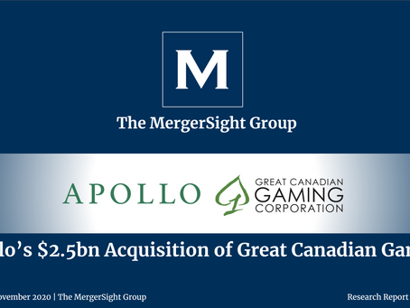 Apollo's $2.5bn Acquisition of Great Canadian Gaming
