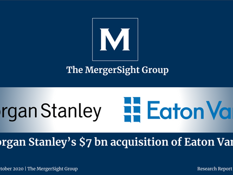 Morgan Stanley's $7bn acquisition of Eaton Vance