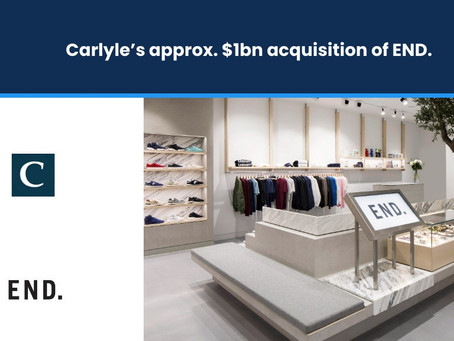 Carlyle's approx. $1bn Acquisition of END