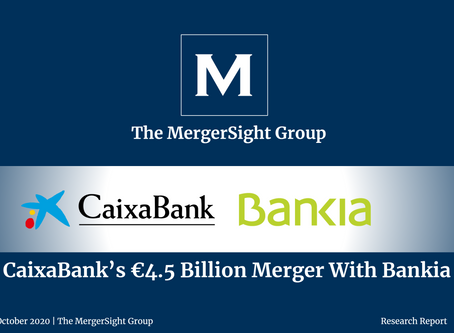 CaixaBank's €4.5bn Merger With Bankia