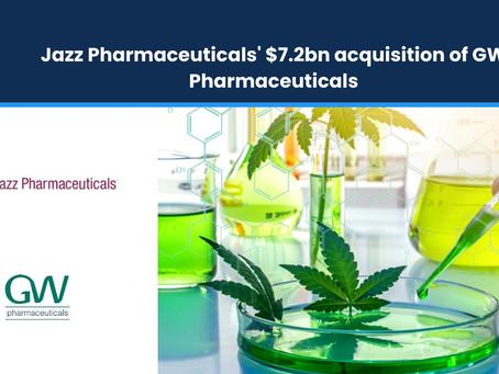 Jazz Pharmaceuticals' $7.2bn Acquisition of GW Pharmaceuticals