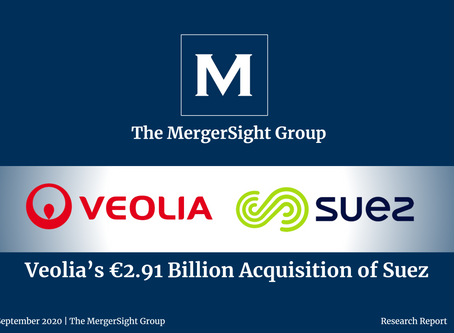 Veolia's €2.91 Billion Acquisition of Suez