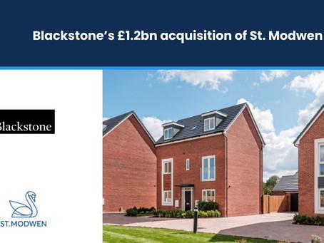 Blackstone's £1.2bn Acquisition of St. Modwen