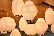 Många lampor