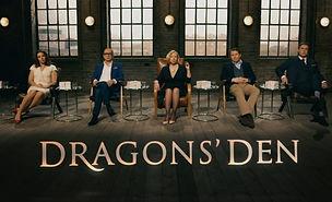 Gruppbild från Dragon's den