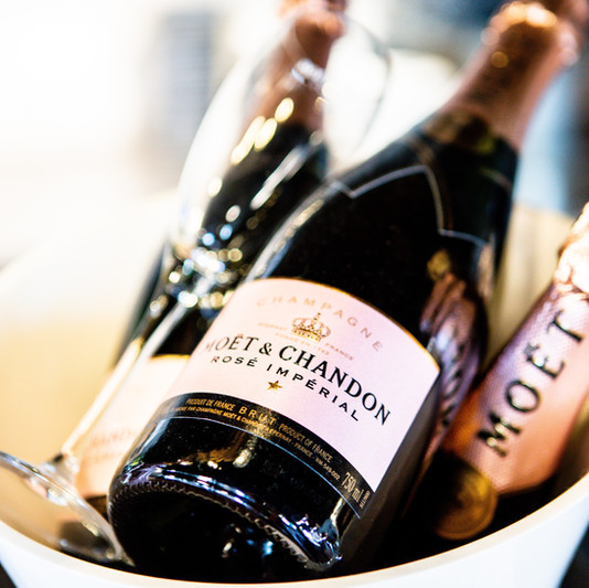 only but the best champagne with the Merry Mare
