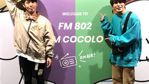 FM802「RADIO∞INFINITY」ゲスト出演ありがとうございました!