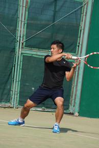 テニス中.JPG