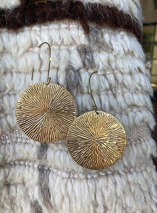 Bronze Sea Urchin Hanging Disk