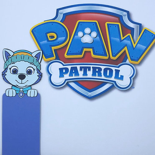 Everest from Paw Patrol Bookmark