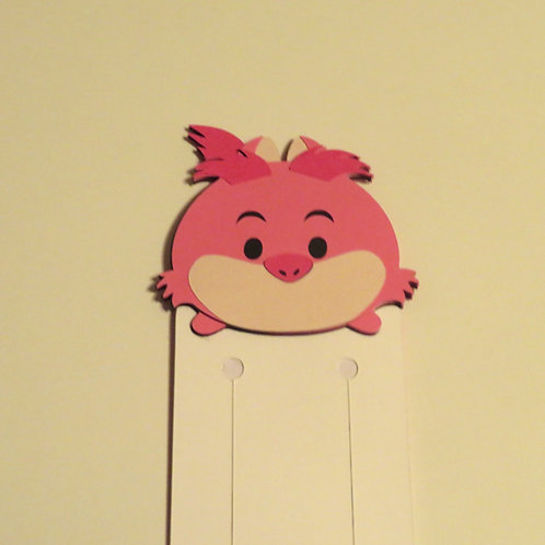 Disney Tsum Tsum Cheshire Cat Bookmark