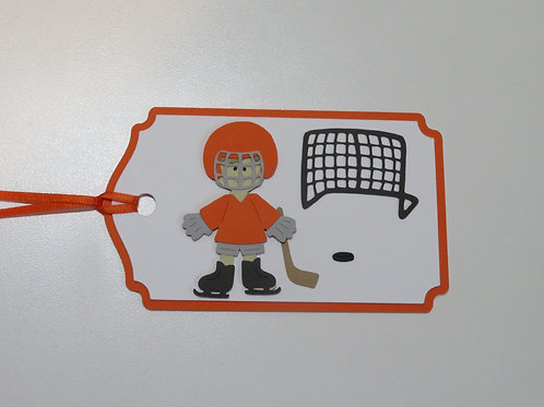 Ready to Play Hockey Gift Tag