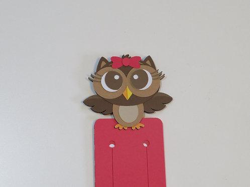 Olivia Owl Bookmark