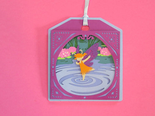 Water Fairy Gift Tag