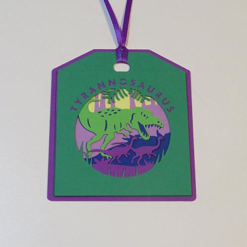 Tyrannosaurus Gift Tag