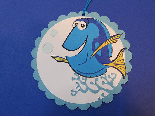 Dory from Disney's Finding Nemo Gift Tag