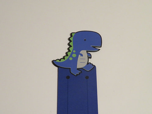 Walking T-Rex Bookmark