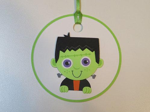 Frankie Frankenstein Halloween Gift Tag