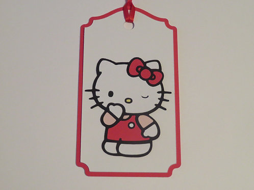 Sanrio Hello Kitty Wink Gift Tag