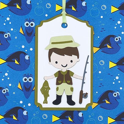 Fisherman Gift Tag