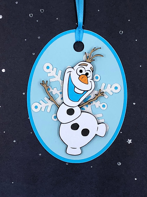 Olaf from Disney's Frozen Gift Tag