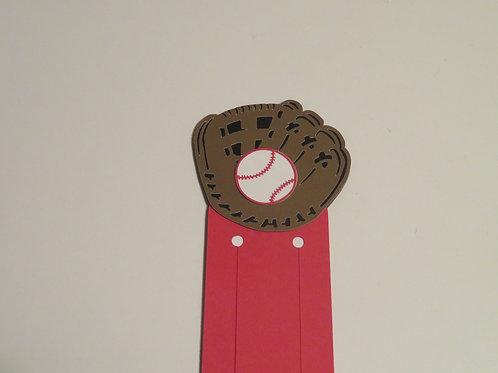 Baseball Bookmark