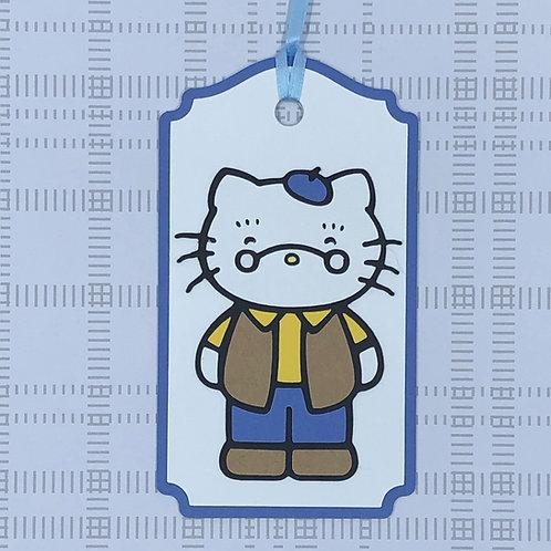 Sanrio Hello Kitty Grandpa Anthony Gift Tag